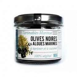 Tartares d'algues olives noires de Marinoë