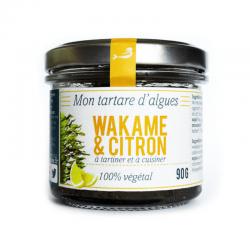 Tartare algues  bio Wakame citron Marinoe