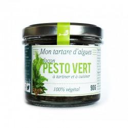 Tartare d'algues Pesto vert de Marinoë