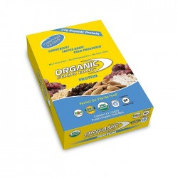Organic Food Bar 22 grammes de protéines vegan bio et raw food