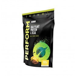 Vegan Perform Vivo life - banane cannelle - synergie de protéines végétales bio et crues avec BCAA et enzymes