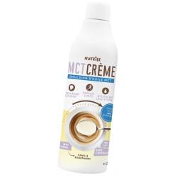 Nutribe MCT crème vanille gourmande - émulsion TCM pour alimentation cétogène