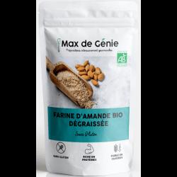 Farine d'amande bio Max de Génie keto