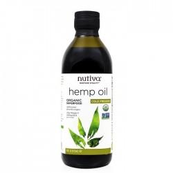 Nutiva huile de chanvre biologique riche en GLA et oméga-3