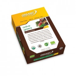 Organic Food Bar Active Greens Chocolate - barres bio vegan avec superaliments verts