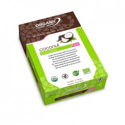 Organic Food Bar Coconut Chocolate - barre bio vegan à la noix de coco raw food