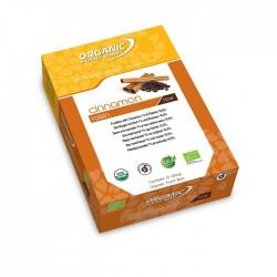 Barres bio vegan crues de Organic Food bar à la cannelle