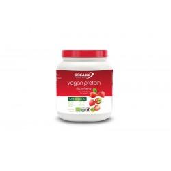 Protéine vegan à la fraise...