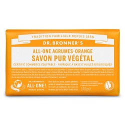 pain de savon Agrumes orange Dr Bronner's