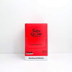 chocolat keto box biologique avec MCT (TCM) au chocolat noir