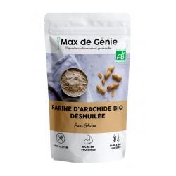farine de cacahuète bio vegan cétogène Max de Génie