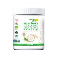 Origin Nature Zen protéine végétale de riz nature velouté  bio et bio germé 250g