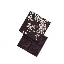 Funky Fat choc - chocolat cétogène bio  vegan parfum café