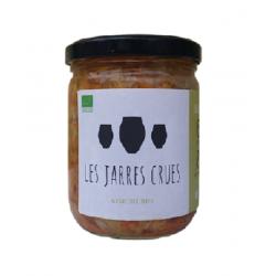 kimchi bio non pasteurisé les Jarres Crues
