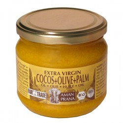 Huile de coco avec huile...