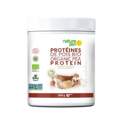 Nature Zen protéine de pois bio vegan, formule cuisine.
