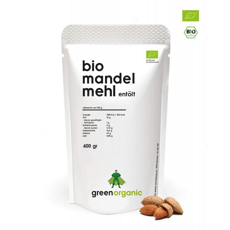 farine biologique cétogène - farine d'amande blanche bio de Green Organic