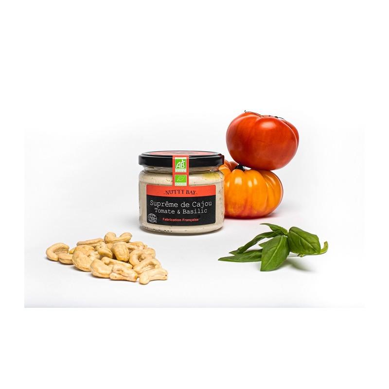 faux mage de cajou bio tomate & basilic de Nutty Bay