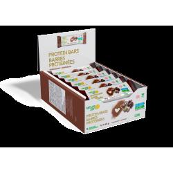 barre vegan protéinée chocolat de Nature Zen