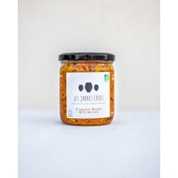 les jarres crues : carottes, radis et curcuma lactofermentés 400g