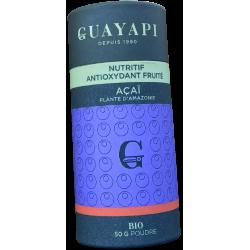 Açaï  Acai Assai poudre biologique Guayapi