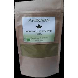 MORINGA AYUBOWAN Poudre 100g - Poudre de Moringa (Moringa oleifera) 100% pure