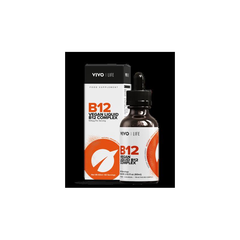 vitamine B12 vegan de Vivo Life: Méthylcobalamine, hydroxocobalamine et adénosylcobalamine