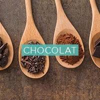 Cacao cru bio, chocolat sans sucre ou au sucre de coco