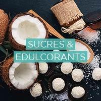 Edulcorants, sucres naturels biologiques