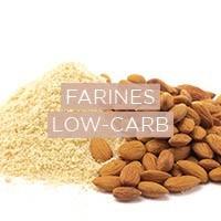 Farines biologiques sans gluten bio et low-carb