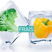 Produits frais biologiques et vegan