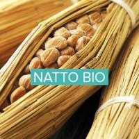natto biologique en poudre et graines entières