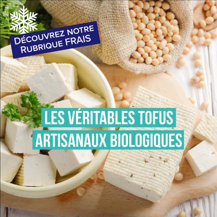 Les véritables tofus artisanaux biologiques